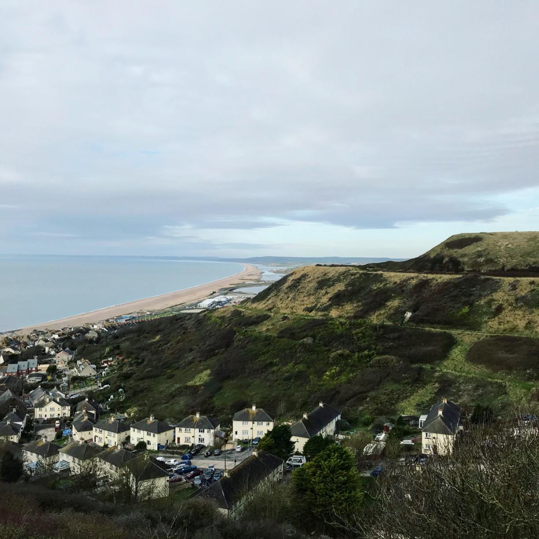 English sea coast holiday